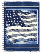 Star Spangled Banner Blue Spiral Notebook