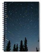 Star Trails, Sandilands Provincial Spiral Notebook