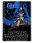 Star Wars Poster Spiral Notebook