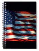 Stars And Stripes At Night Spiral Notebook