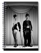 Stars On Stage Spiral Notebook