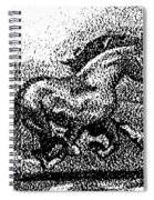 Startled Equus Spiral Notebook