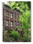 Stately Ny Street Spiral Notebook