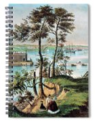 Staten Island And The Narrows, 20th Spiral Notebook