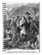Staten Island: Dutch Spiral Notebook