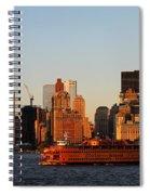 Staten Island Ferry 3 Spiral Notebook