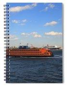 Staten Island Ferry Spiral Notebook