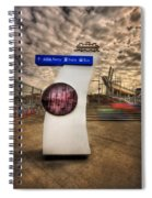 Station Identification Spiral Notebook