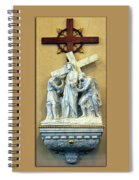 Station Of The Cross 02 Spiral Notebook
