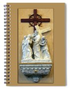 Station Of The Cross 04 Spiral Notebook