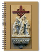 Station Of The Cross 05 Spiral Notebook