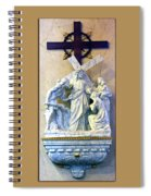 Station Of The Cross 08 Spiral Notebook