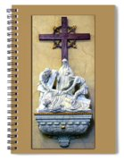 Station Of The Cross 09 Spiral Notebook