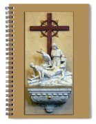 Station Of The Cross 11 Spiral Notebook