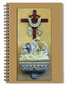 Station Of The Cross 13 Spiral Notebook