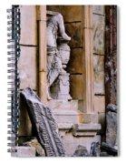Statue In A Niche Spiral Notebook