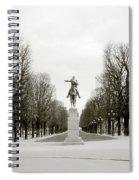 Nostalgia Of Paris Spiral Notebook
