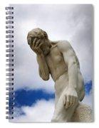 Statue. Jardin Des Tuileries. Paris. Spiral Notebook