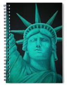 Statue Of Liberty ... Spiral Notebook