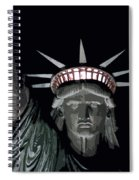 Statue Of Liberty Poster Spiral Notebook