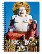 Statue Of Shiva Spiral Notebook