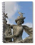 Statue . Place De La Concorde. Paris. France Spiral Notebook