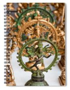 Statues For Sale Of Hindu Gods Spiral Notebook