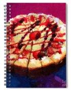 Stawberry Sin Spiral Notebook