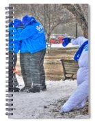 Staying Warm Spiral Notebook
