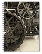 Steam Power Monochrome Spiral Notebook