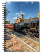 Steam Train Spiral Notebook