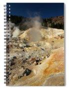 Steaming Organge Crust Spiral Notebook