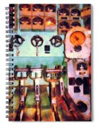 Steampunk - Electrical Control Room Spiral Notebook