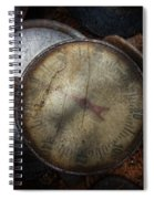 Steampunk - Gauge For Sale Spiral Notebook