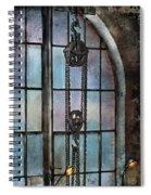 Steampunk - Gear - Importance Of Industry  Spiral Notebook