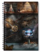 Steampunk - Industrial Society Spiral Notebook