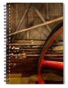 Steampunk - Machine - The Wheel Works Spiral Notebook