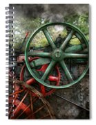 Steampunk - Machine - Transportation Of The Future Spiral Notebook