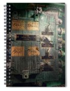 Steampunk - Naval - Electric - Lighting Control Panel Spiral Notebook