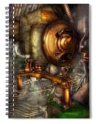 Steampunk - Naval - Shut The Valve  Spiral Notebook