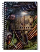 Steampunk - Naval - The Comm Station Spiral Notebook
