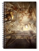 Steampunk - Naval - The Escape Hatch Spiral Notebook