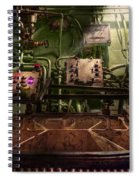 Steampunk - Naval - This Is Where I Do My Job Spiral Notebook