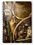 Steampunk - Naval - Watch The Depth Spiral Notebook