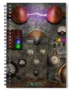 Steampunk - The Modulator Spiral Notebook