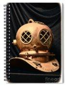 Steampunk - Diving - Diving Helmet Spiral Notebook