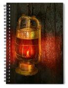 Steampunk - Red Light District Spiral Notebook