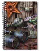 Steampunk Still Life Spiral Notebook
