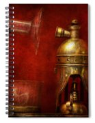 Steampunk - The Torch Spiral Notebook