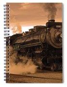 Steamtown Engine 2317 Spiral Notebook